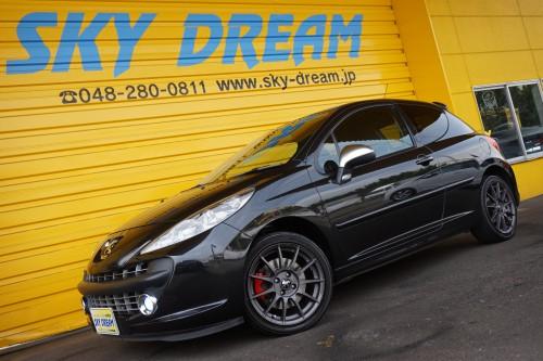 プジョー 207 GTI!オシャレで走りも楽しい必見のお車です!!