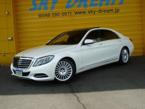 メルセデスベンツ S550ロング W222 人気色 ダイヤモンドホワイト!