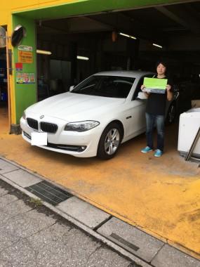 H23y BMW 528I F10モデル ご納車