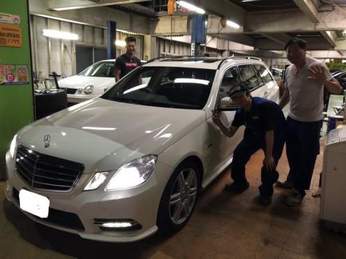 H23y メルセデスベンツ E250T BE AMGスポーツPKG ご納車