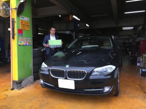 H26y BMW 535I F10 ご納車