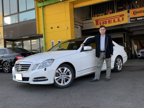 H24y Mercedes Benz E350 W212 BuleEFFICIENCY Avantgarde ご納車