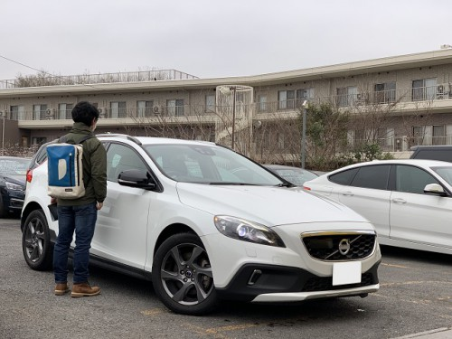H26y Volvo V40 Crosscountry T5 AWD ご納車