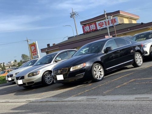 H25y Volvo S80 T6 AWD ご納車