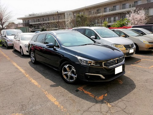H26y Peugeot 508SW ご納車