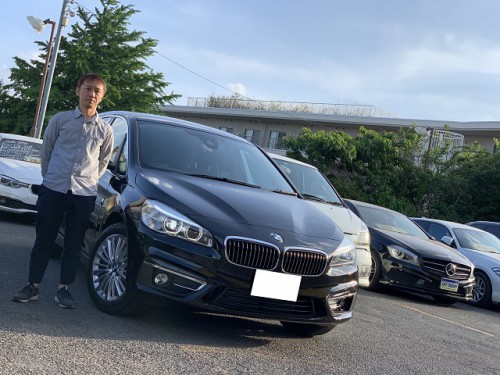 H27y BMW 220i F46 Grant tourer Luxury ご納車