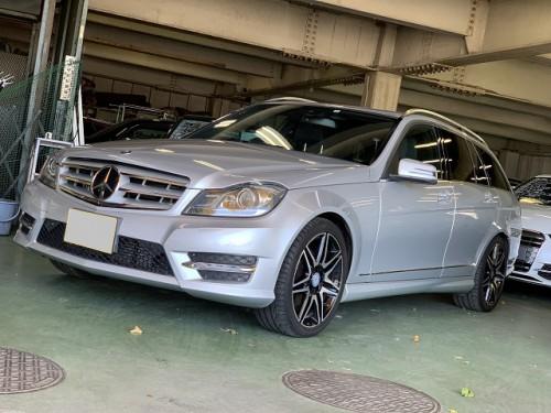 H26y Mercedes Benz C180 S204 Avantgarde AMG sport PKG +. ご納車