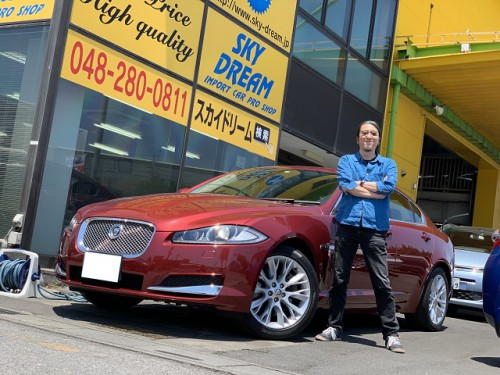 H25y Jaguar XF 2.0 Premium Luxury ご納車