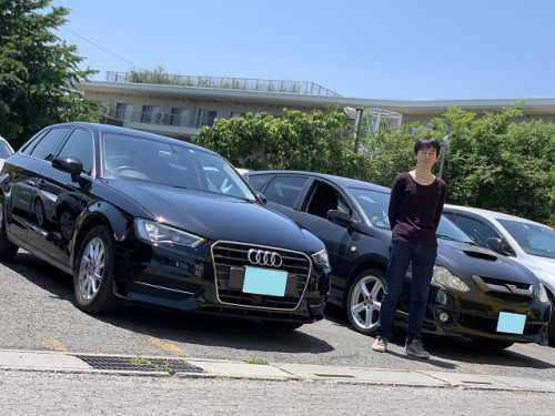 H27y Audi A3 Sportback 8V 1.4 TFSI ご納車