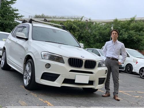 H24y BMW X3 F25 xdrive 28i Msport PKG. ご納車
