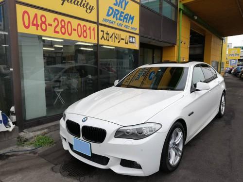 H24y BMW 528i MSport ご納車