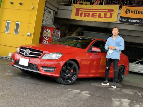 H26y Mercedes Benz C180 C204 AMG sport PKG. ご納車
