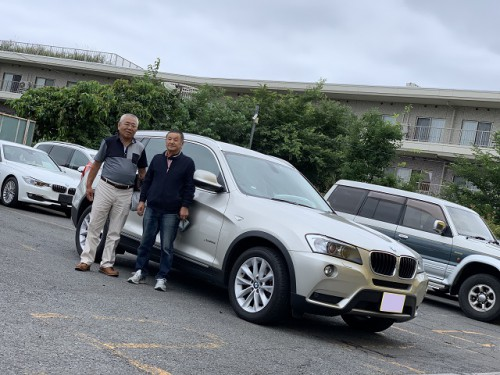 H24y BMW X3 F25 xdrive 28i Highline ご納車