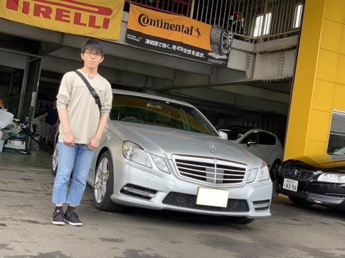 H25y Mercedes Benz E250 W212 Avantgarde AMG sport PKG. ご納車