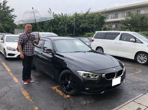 H28y BMW 320d F30 ご納車