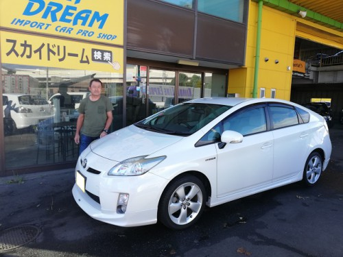 H22y TOYOTA PRIUS S ご納車