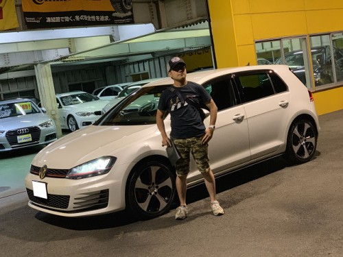 H25y Volkswagen Golf GTI 5G DCC Package ご納車