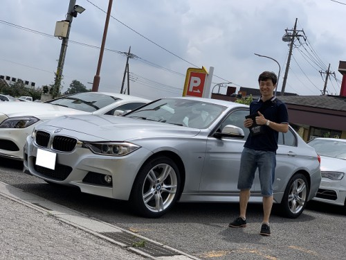 H26y BMW 320i F30 xdrive M sport Package ご納車