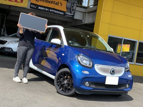 H29y Smart Forfour Turbo ご納車