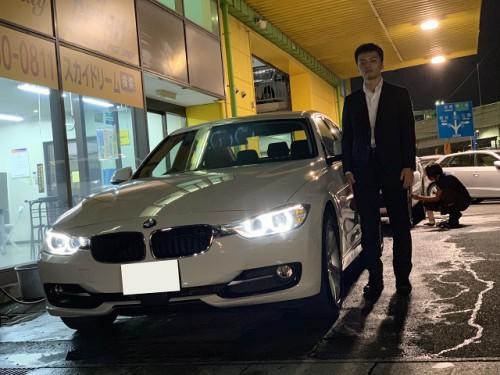 H25y BMW 320d F30 Sport ご納車