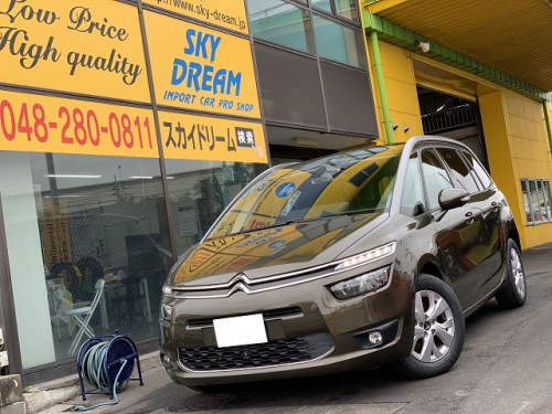 H26y Citroen Grand C4 Picasso Seduction ご納車