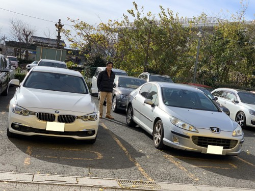 H28y BMW 320i F30 Luxury ご納車