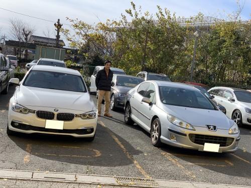 H28y BMW 320i F30 Luxury ご納車